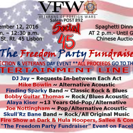 The Freedom Fundraiser Party